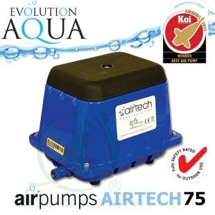 AirPump Airtech 75, 44 Watt, 75 l/min. Evolution Aqua