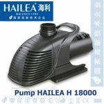 Čerpadlo Hailea H 18000, 17.350 l/hod. 285 Watt, výtlak 6,1 m