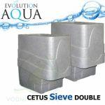 Cetus Sieve DOUBLE, 2x Cetus v gravity/pump verzi