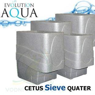 Cetus Sieve QUATER, 4x Cetus v gravity/pump verzi Evolution Aqua