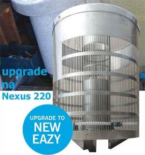 EAZY UPGRADE KIT FOR NEXUS 220, UPGRADE NEXUS 200/210 NA MODEL 220, ODNÍMATELNÝ MODEL, VČETNĚ MÉDIA K1 MICRO 18 LITRŮ Evolution Aqua