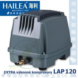 Extra výkonný kompresor LAP-120, 150 litrů/min., 125 Watt Hailea
