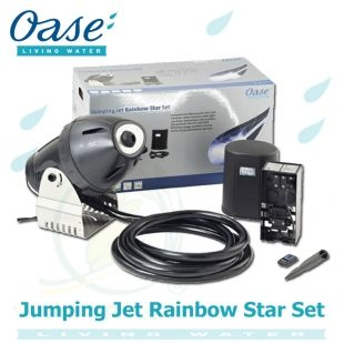 Jumping Jet Rainbow Star Set Oase Living Water