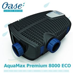 Oase AquaMax Eco Premium 8000, filtrační jezírkové čerpadlo, 65 Watt, max. výtlak 4,1 m, 5 let záruka Oase Living Water