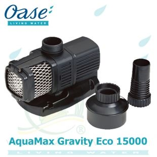 Oase AquaMax Gravity Eco 15000, 85 Watt, 15.000 litrů/hod., max. 1,8 m, záruka 5 let Oase Living Water