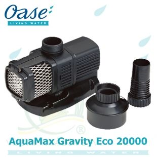 Oase AquaMax Gravity Eco 20000, 120 Watt, 18.000 litrů/hod., max. 2,2 m, záruka 5 let Oase Living Water
