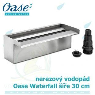 Oase Waterfall 30, nerez vodopád o šíři 30 cm Oase Living Water