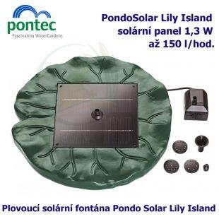 Pontec PondoSolar Lily Island Oase Living Water