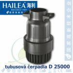 Tubusové, trubkové čerpadlo Hailea D 25000