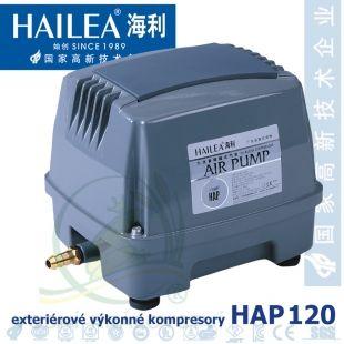 Výkonný kompresor HAP-120, 120 litrů/min., 125 Watt Hailea