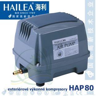 Výkonný kompresor HAP-80, 80 litrů/min., 85 Watt Hailea