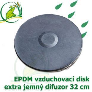Vzduchovací disk 32 cm, difuzor extra jemný Vodní království