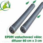 Vzduchovací EPDM válec 60x3 cm, difuzor