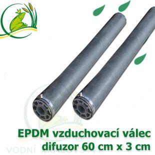 Vzduchovací EPDM válec 60x3 cm, difuzor Vodní království