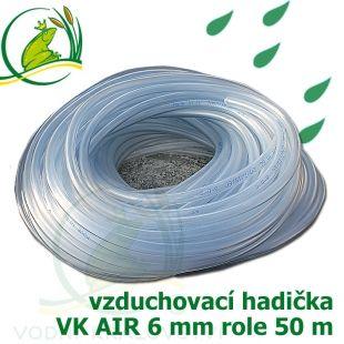 Vzduchovací hadička POND AIR 6 mm, balení 50 m Vodní království