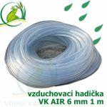 Vzduchovací hadička POND AIR 6 mm, cena za 1 metr