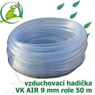 Vzduchovací hadička POND AIR 9 mm, balení 50 m Vodní království