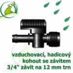 """Vzduchovací (hadičkový) kohout pro 12-13 mm, s externím závitem 3/4"""";129.00"""""""
