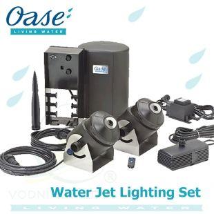 Water Quintet Creative, fontánový systém s pěti individuálním čerpadly a osvětlenými tryskami Oase Living Water