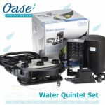 Water Quintet, vodní fontána s pěti tryskami a osvětlením