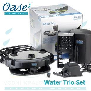 Water Trio, vodní fontána se třemi čerpadly a světelnými tryskami Oase Living Water
