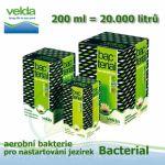 Bacterial 200 ml pro 20-40 m3,. startovacích jezírkových aerobních bakterií Velda, dodávané v sušeném stavu