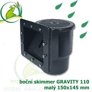 Boční skimmer malý gravitační verze Vodní království