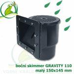 Boční skimmer velký gravitační verze
