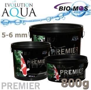 EA Premier, extra kvalitní krmivo pro střední a velké ryby, speciálně pro koi, velikost 5-6 mm, balení 800g Evolution Aqua