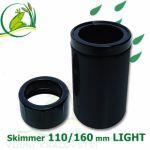 Gravitační skimmer 160 mm LIGHT