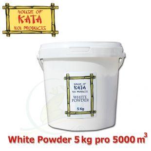 House Of Kata White Powder 5 kg, pro projasnění vody na cca 5.000 m3 a tvorbu biofilmu