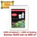 Náhradní sada do množírny bakterií Kamiac Refill set 800, 1000 ml Bacteria Nutrient + 1000 ml Micro-bacteria