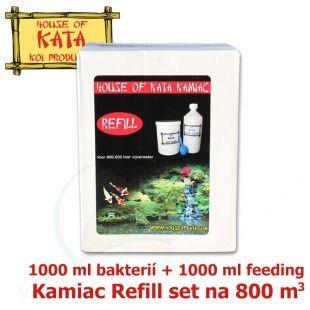 Náhradní sada do množírny bakterií Kamiac Refill set 800, 1000 ml Bacteria Nutrient + 1000 ml Micro-bacteria House of Kata
