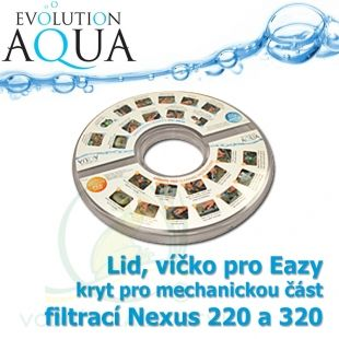 Nexus Eazy Clear Plastic Lid - Eazy plastové krycí a ochranné víčko Evolution Aqua