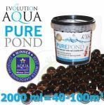Pure Pond Black Balls bacterials, startovací a čistící samo se dávkující bakterie pro bio-rovnováhu ve filtracích a jezírku, 2000 ml pro 40-200 m3, pro celoroční použití od 4 °C
