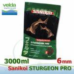 Sanikoi Sturgeon 6 mm, jeseteří extra krmivo 3000 ml, cca 2,1Kg, pro střední a velké jesetery Velda