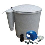 Eazy Pod Air, jezírka 5-50m3, Eazy POD, kompresor Airtech 70l, vzduchovací kameny a rozvody Evolution Aqua