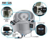 EVOLUTION AQUA AUTO NEXUS 320 EAST, Gravitační zapojení + pure set