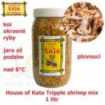 HOUSE OF KATA TRIPPLE SHRIMP MIX, 1 LITR, OD 8°C, JARO AŽ PODZIM, VŠECHNY DRUHY RYB