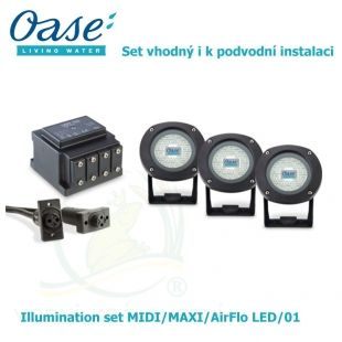 Illumination set MIDI/MAXI/AirFlo LED/01 Oase Living Water