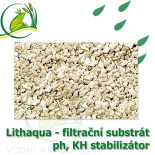 Jezírkový a filtrační substrát Lithaqua, pH, KH, GH stabilizátor 25kg Vodní království