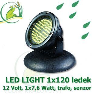 LED Light 120diod, 12 Volt, 7,6 Watt Vodní království