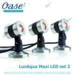 LunAqua Maxi LED Set 3 Oase Living Water