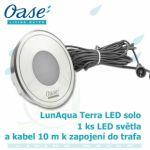 LunAqua Terra LED solo, 1xLED náhradní/doplňující osvětlení Oase Living Water
