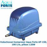 VZDUCHOVACÍ KOMPRESOR AQUA FORTE AP-150, 190 L/M, PŘÍKON 120W